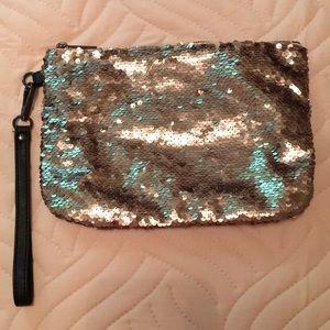 Merona Gold Sequin Bag